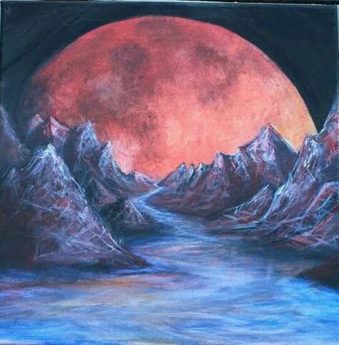 Blood Moon - Linnea