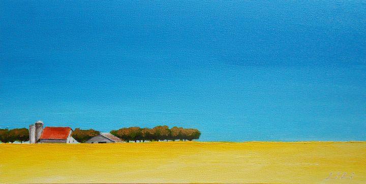 Midwest farm - LiLiArtStudio