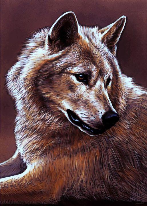 Mexican Grey Wolf - Phoenix Art Works