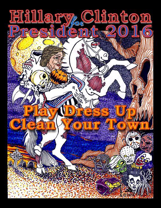 Hillary President 2016 Halloween - NestGo Solutions