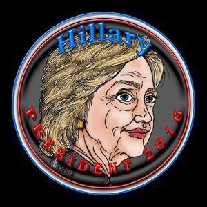 Hillary President 2016 Self-portrait - NestGo Solutions