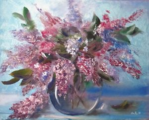 Bunch of lilac - Pangol Art