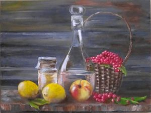 Fruits, Honey and Fruits-drink