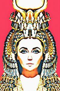 Elizabeth Taylor, alias in Cleopatra - Art Cinema Gallery