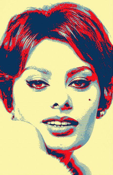 Sophia Loren - Art Cinema Gallery