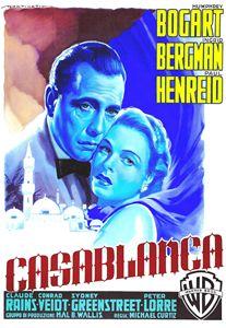 Italian poster of Casablanca