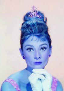 A. Hepburn in Breakfast at Tiffanys - Art Cinema Gallery