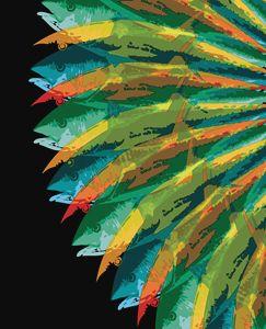 Fish Vortex, Radiant Tall