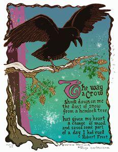 Crow Poem - Robert Frost