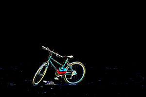 A bicycle on the beach - Carolyn reinhart