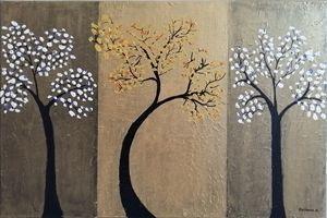 Texture applied on tree