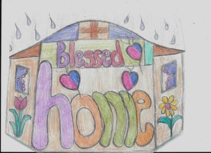 This home is blessed of God