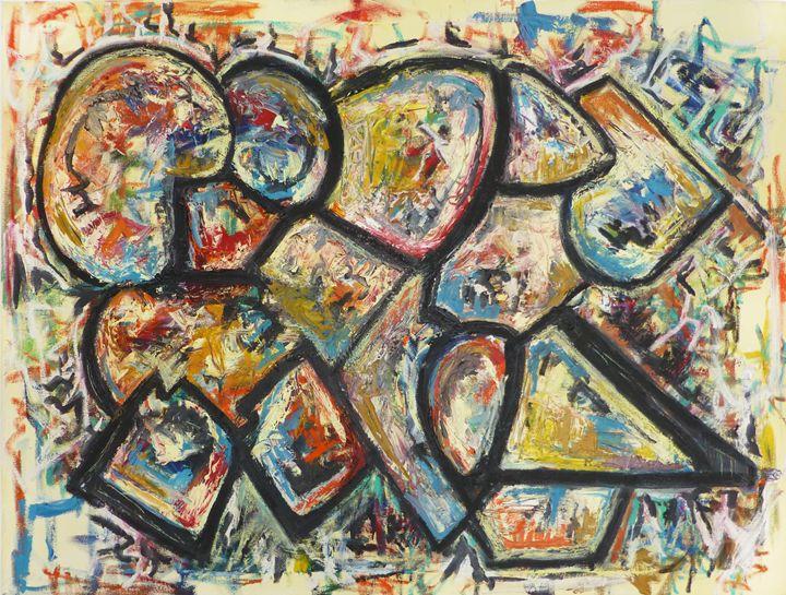 On Going Painting - Allison Lampron