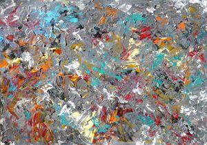 Grey Tone Abstract