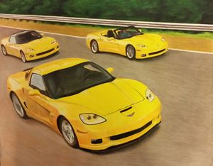 Yellow Corvettes