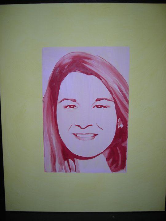 Melinda Gates - Lois Brand Artist