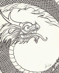 Spiraling Dragon