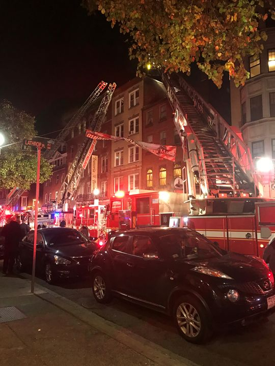 Boston Fire - Thanksgiving - Books900