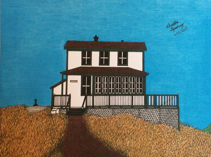 The Old Cook House - Christine's Artwork
