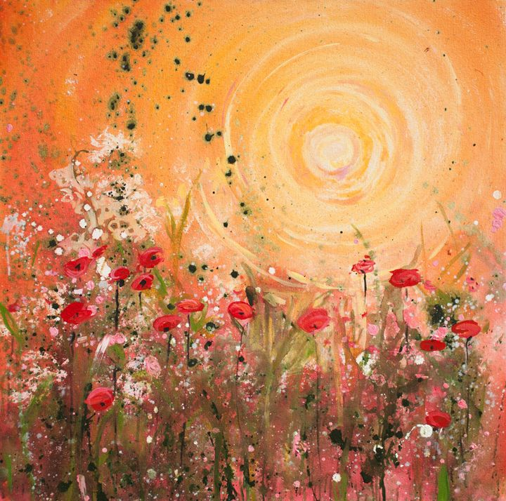 Yellow Sunrise - Patty Baker