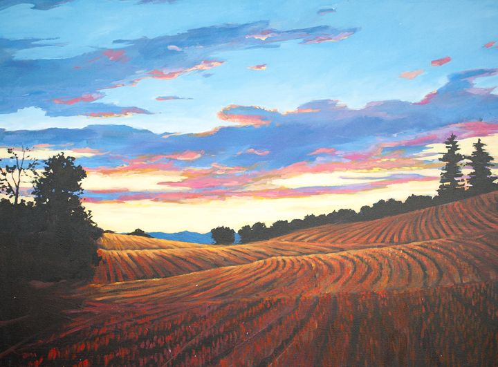Harvest Sunset in Clermont - Patty Baker