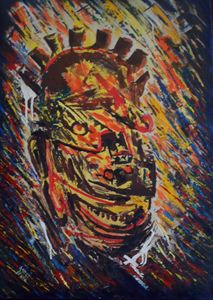 virility mask 67 x 95 cm
