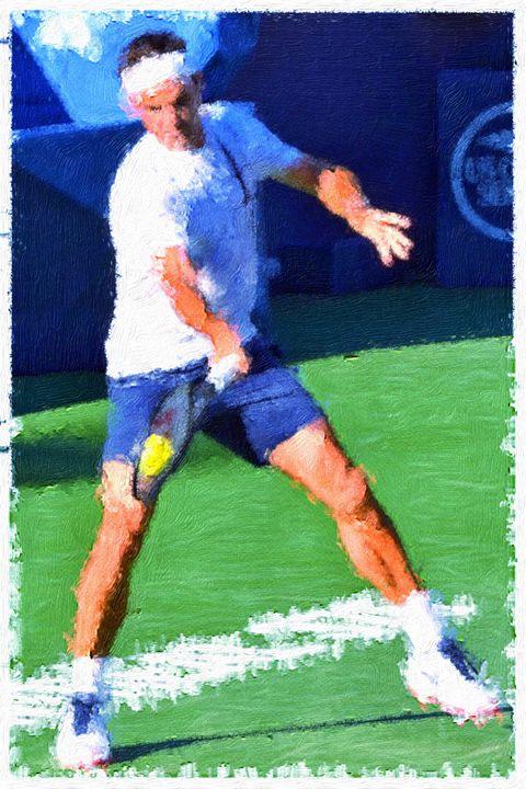 The Maestro Roger Federer - Goldiespix