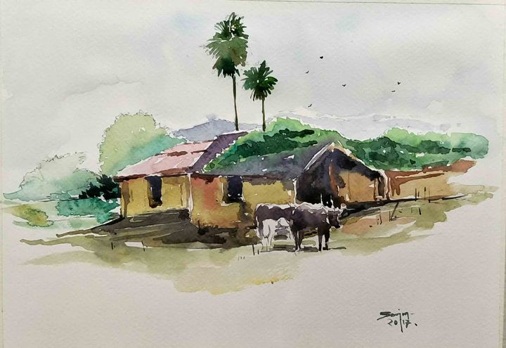 mud houses - SANJAY DAS