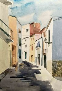 Greece Street cityscapes
