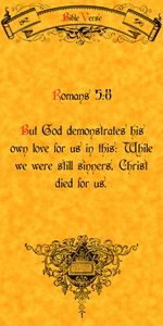 Bible Verse Romans 5:8