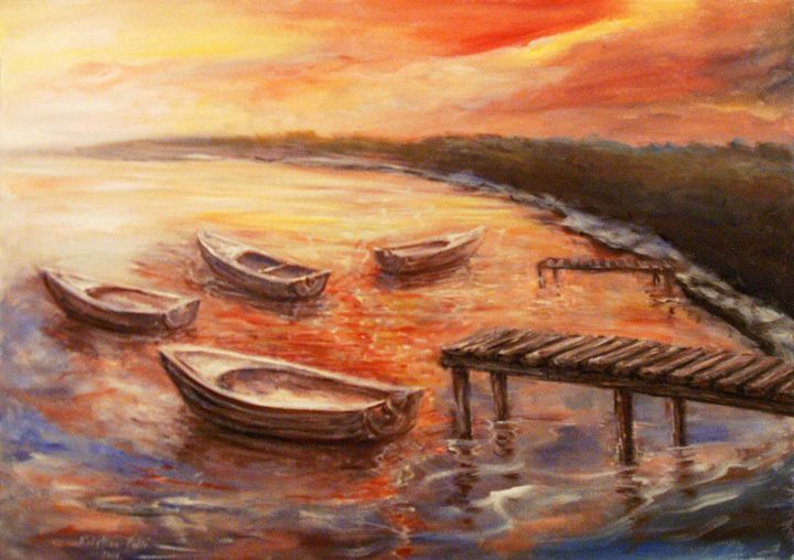 Boats - KristinaValicArt