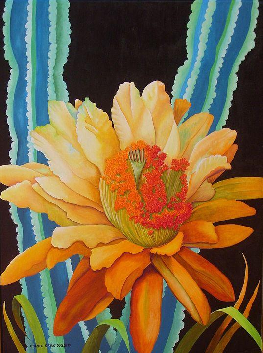 Midnight Bloom - Southwest & Florals by Carol