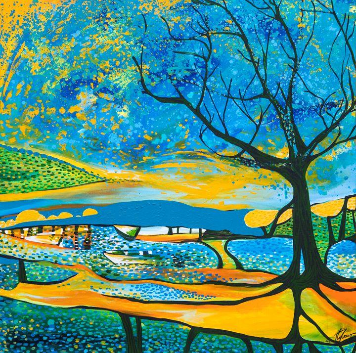 Acercandome al paisaje - Galeria Felix Murillo