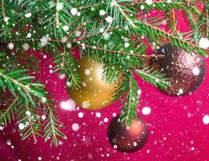 Christmas festive background.