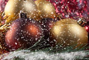 Christmas balls - rokkis