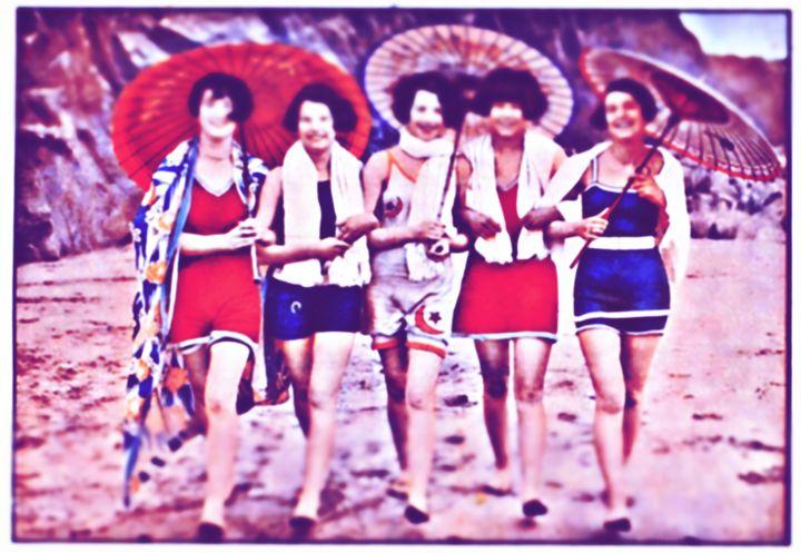 Beautiful women on the beach - ISRA