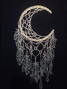 Dreamcatcher Moon