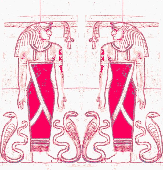 Egyptian Priests Cobras In WRR1 - Sherrie D. Larch
