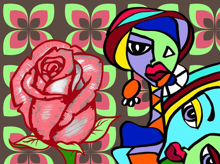 Rose in the Room by Jesse Raudales - Jesse Raudales