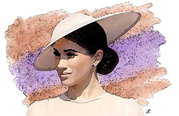Duchess of Sussex by Jesse Raudales - Jesse Raudales