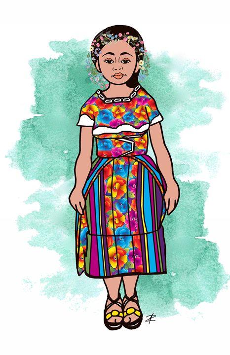 Claudia Gonzales by Jesse Raudales - Jesse Raudales