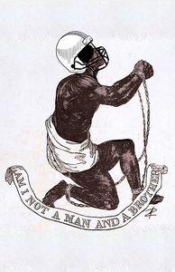 NFL Slavery by Jesse Raudales