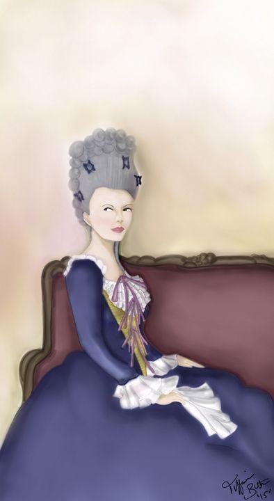 """""""A 17th Century Lady"""" - Elegant Designs"""