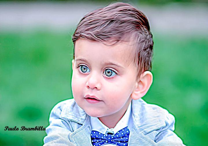 O menino lindo - Paulo Brambilla
