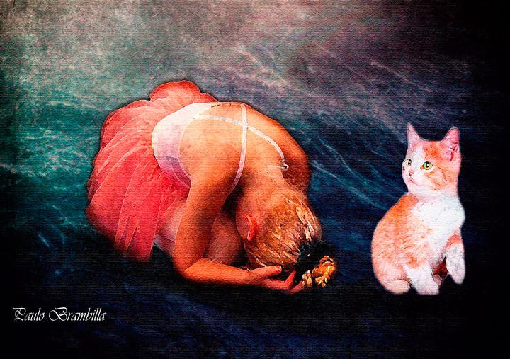A bailarina eo gatinho - Paulo Brambilla