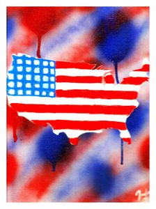 Bleed Red, White, and Blue!