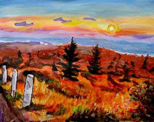 Brockway Mountain Sunset
