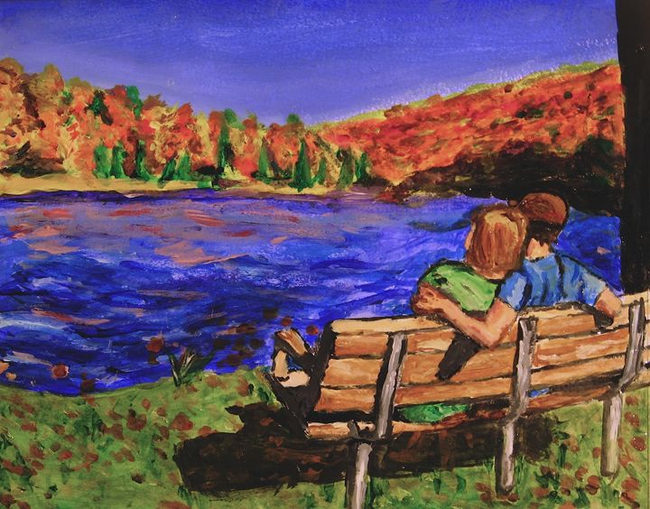 Fall by the Lake - Brian Deming