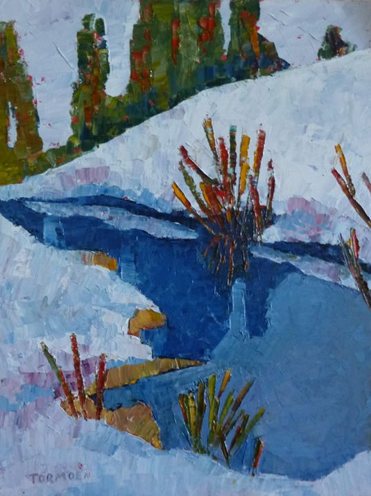 Nearr the Lake - Susan Tormoen