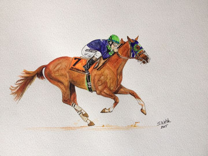 California Chrome - The Starting Gate